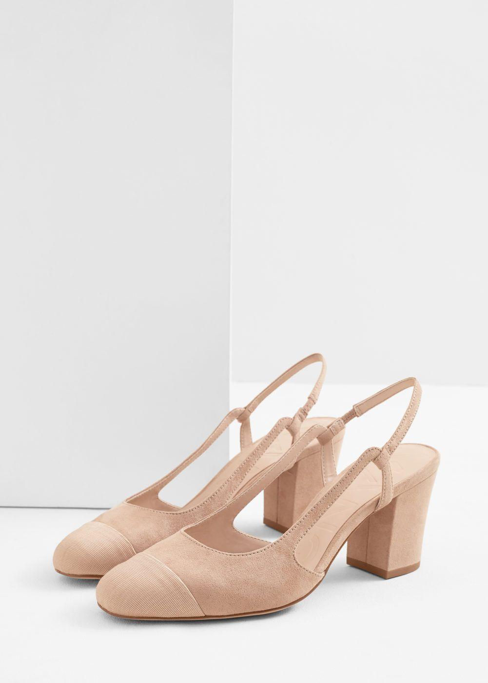 Slingback shoes - Women   MANGO USA