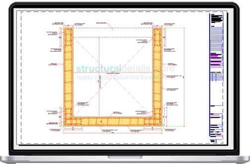 Elevator Shaft Reinforced Concrete Shear Wall Details