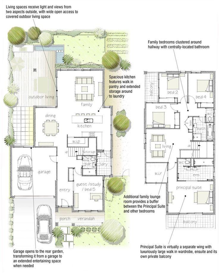 floor plan New Urbanism Pinterest Building