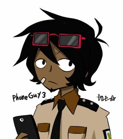 phone guy fnaf 3