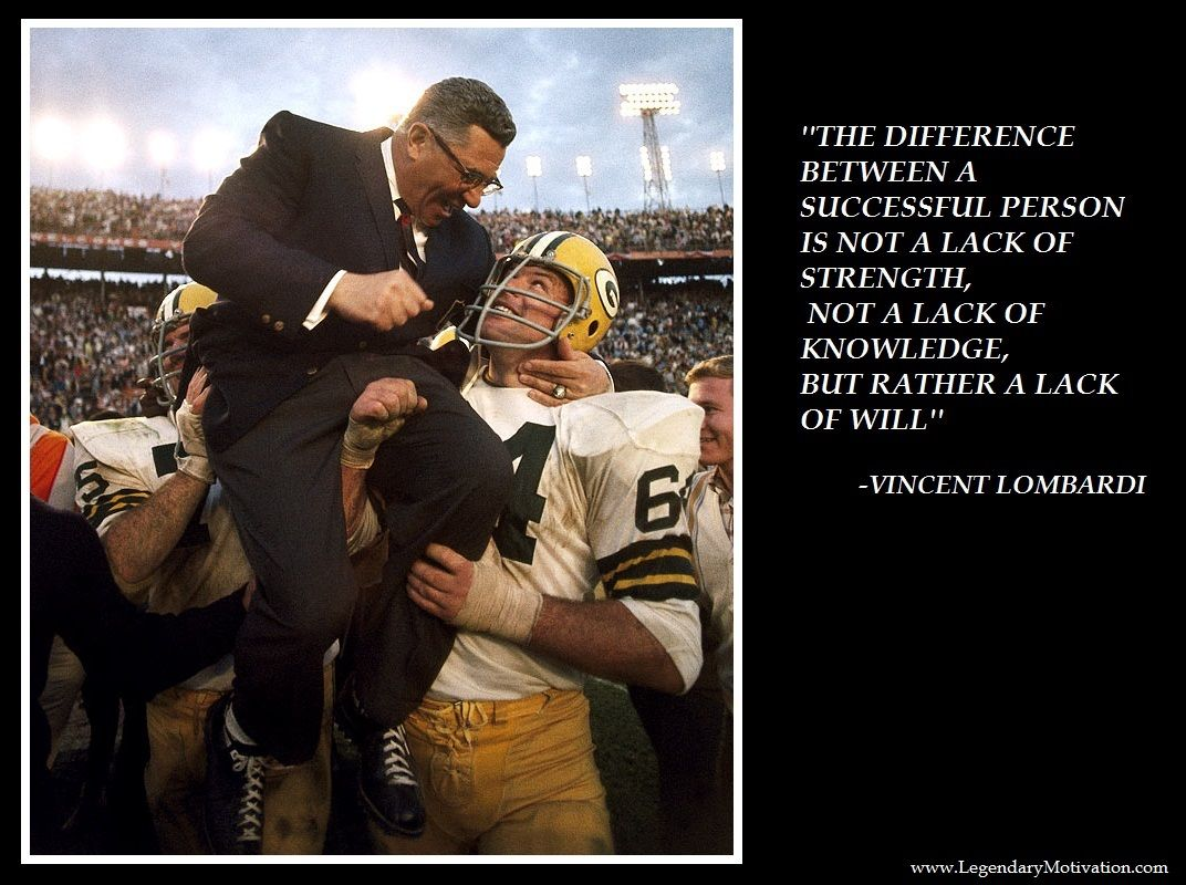 Vince Lombardi legendary quotes
