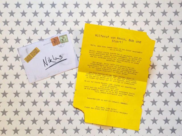 Minions Einladungskarten – thegirlsroom
