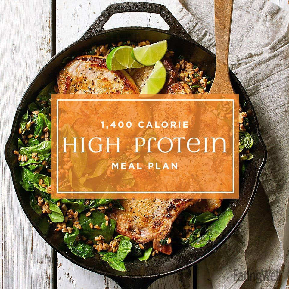 1,400-Calorie Meal Plan: High-Protein