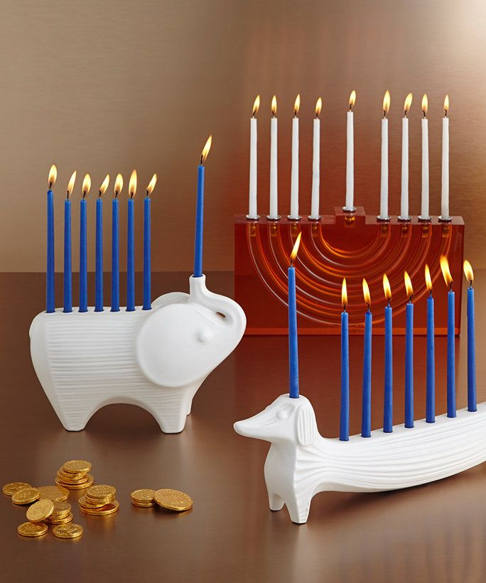 6 Designer Menorahs You Need This Hanukkah