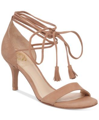 Vince Camuto Kathin Mid-Heel Dress Sandals - Pumps - Shoes - Macy's