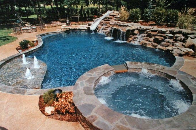 Inground Pools Designed For Backyard Living Residential Gallery Backyard Pool Inground Pool Designs Backyard Pool Designs