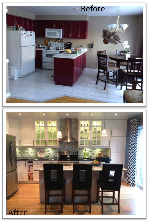 Ikea Kitchen Remodel Beforeafter  Kitchen  Pinterest  Ikea Inspiration Remodeling Kitchen Review