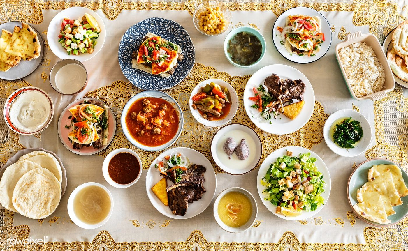 Download Premium Image Of Delicious Food For A Ramadan Feast 426103 Food Delicious Iftar