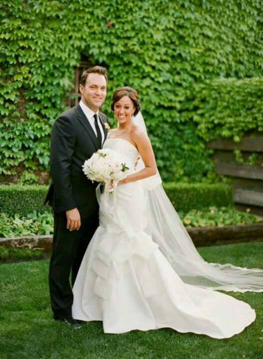 9f514a5934e Tamera Mowry-Housley wedding dress
