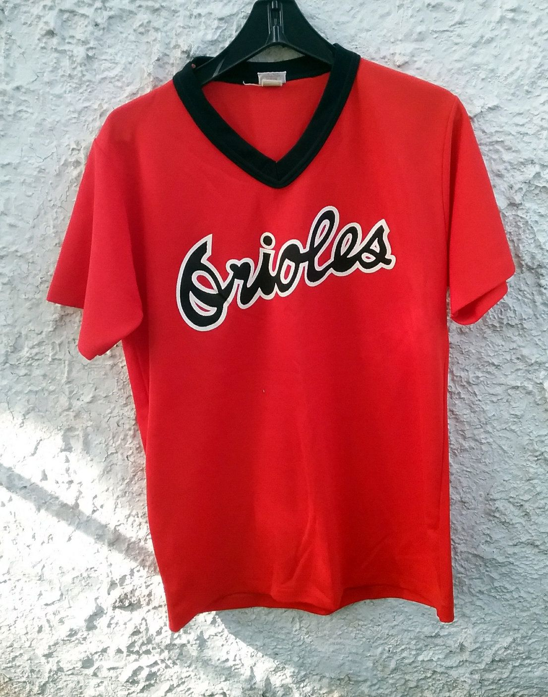 3de18d3f8e6 80s 90s Baltimore Orioles Jersey Shirt MLB Large Orange Black polyester by  Fchoicevintage on Etsy  jersey  vintage  baltimoreorioles