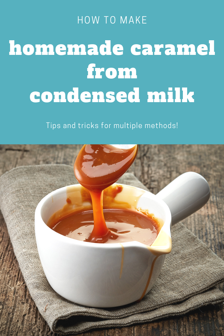 Make Homemade Caramel From A Can Of Condensed Milk Microwav In 2020 Homemade Sweetened Condensed Milk Sweetened Condensed Milk Recipes Condensed Milk Recipes Desserts