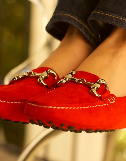 kayce hughes driving moccasin- I really want these