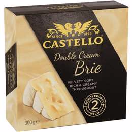 Castello Double Cream Brie 300g Woolworths Milk Nutrition Soft Cheese Grocery