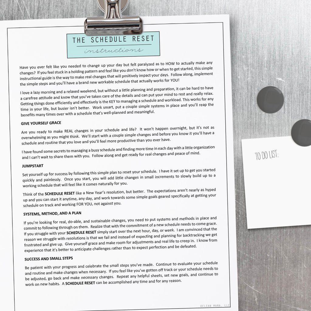 How To Combine Your Planner + Homekeeping Binder (With
