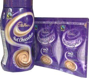 Cadbury Highlights Hot Chocolate Drink Lower Calorie