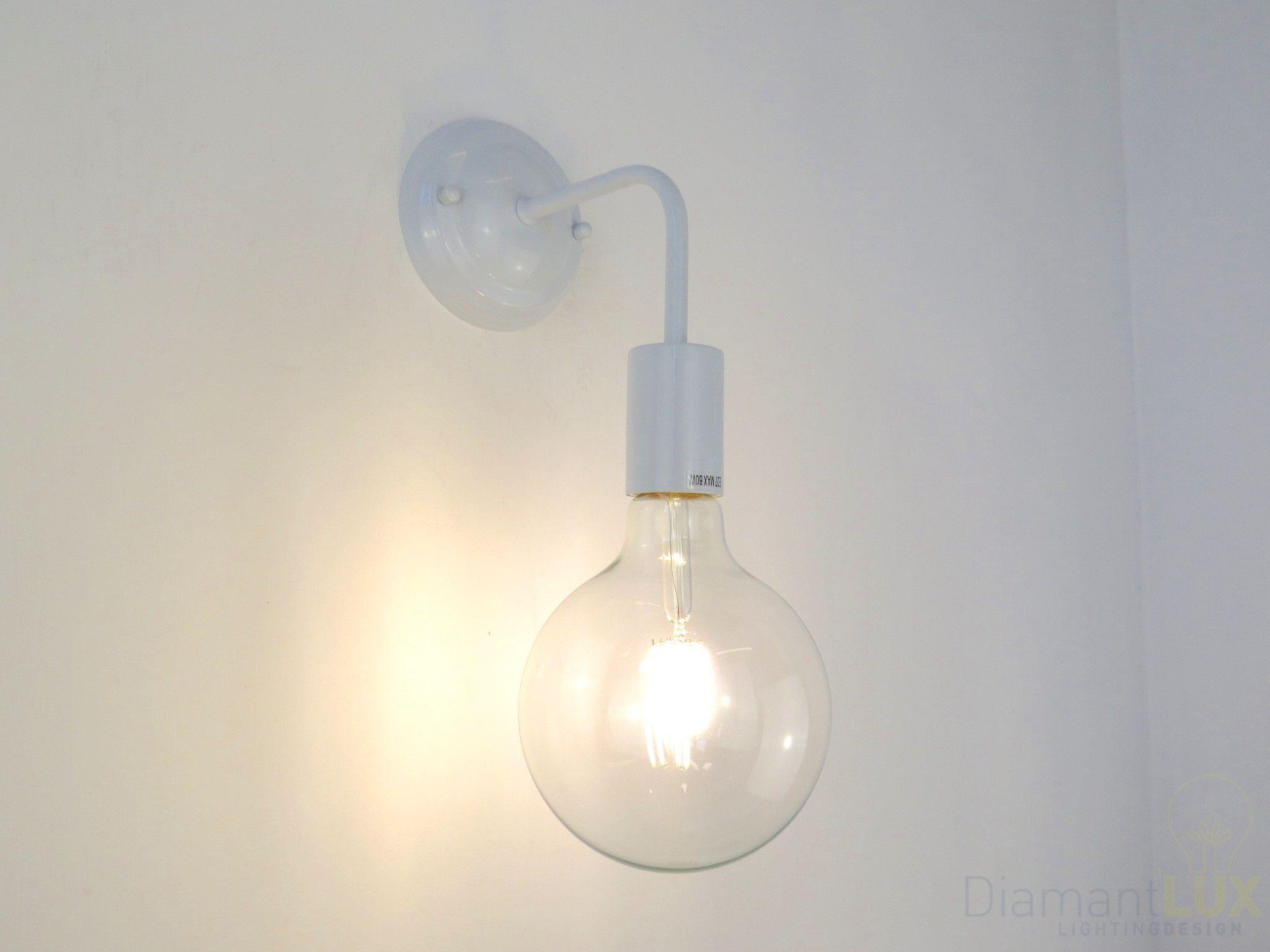 Illuminazione Bagno A Parete applique led molto luminoso di design moderno per camera da
