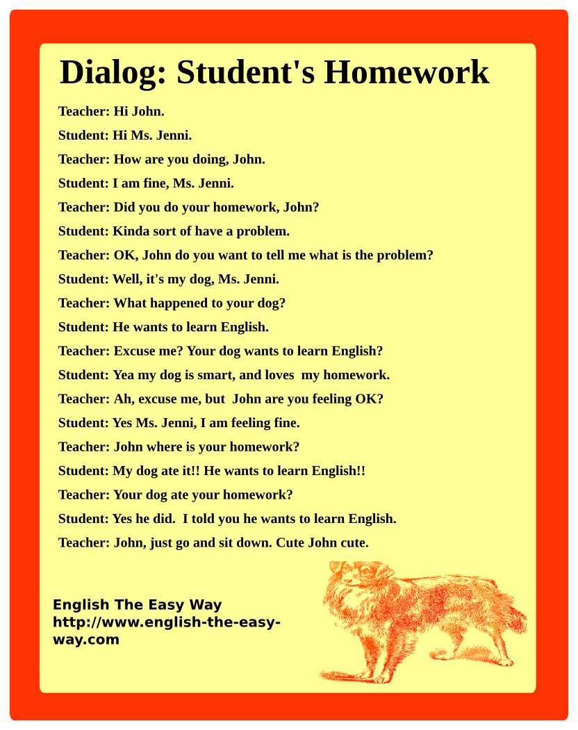 For more dialogs & Speaking to http//www.englishthe