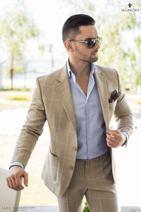 71f6a0f72c A #Gentleman's patience is timeless. #SIGNORI | The Casual Man ...