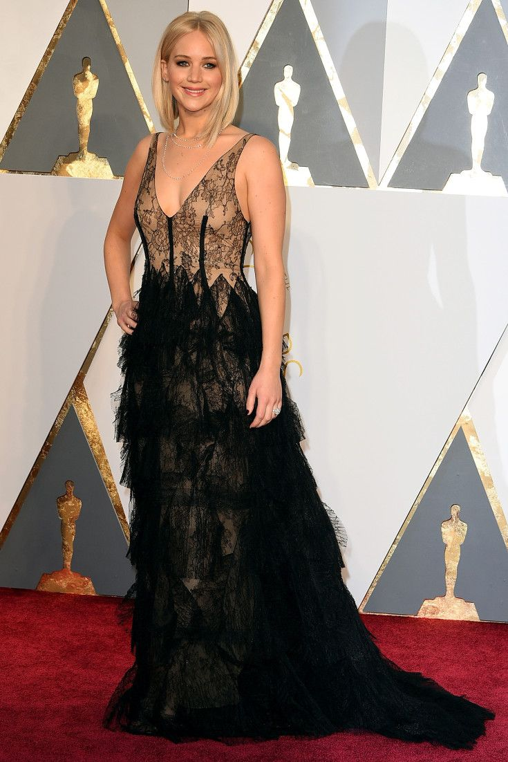 Jennifer Lawrence\'s Dior Oscars Gown Is Sheer Perfection | Red ...
