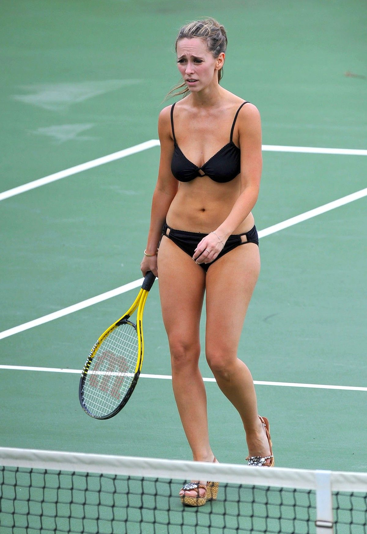 tennis Jennifer naked love hewitt