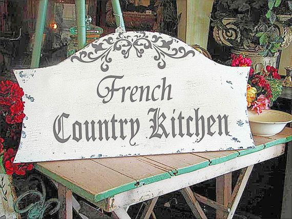 French Country Kitchen Stencil Reusable Stencil 6 Sizes Available Create Kitchen Signs Or French Country Signs French Signs Country Kitchen French Country