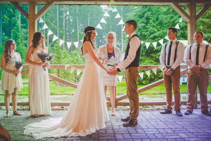 Gorgeous Rustic Bohemian Wedding in Vancouver   Rustic ...