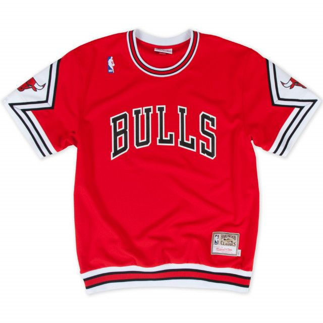 Various Sizes//Colours Mitchell and Ness Men/'s NBA Chicago Bulls Logo Vest New