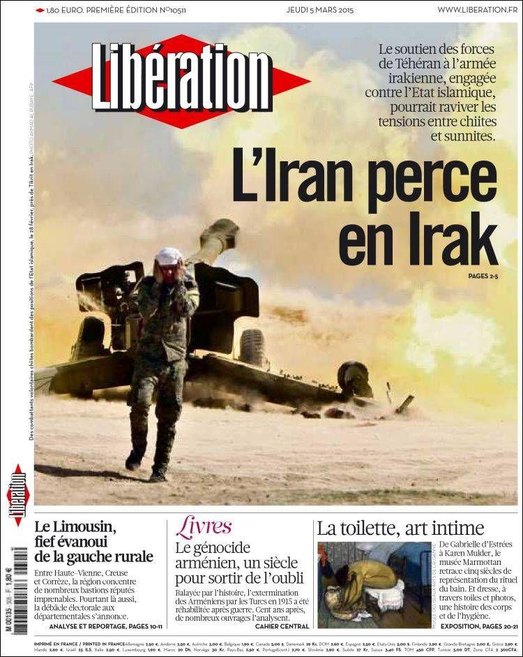 Libération Jeudi 5 Mars 2015 N° 10511 Libération
