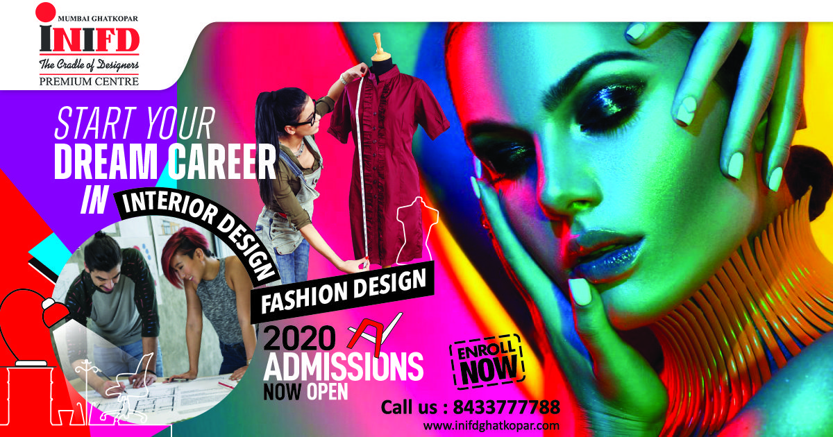 Start Your Dream Career Learn Fashion Interior Design Courses From Inifd Mumbai Ghatkopar In 2020 Interior Design Institute Interior Design Courses Dream Career