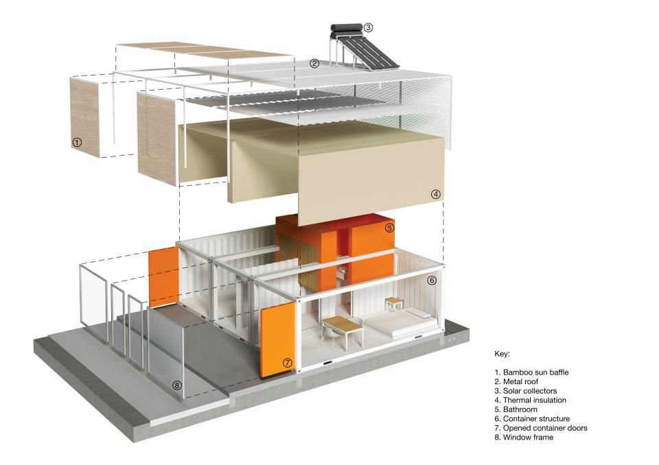 MAPPING containers hospital sudan NOMAD ARCHITECTURE: SUDAN ... on