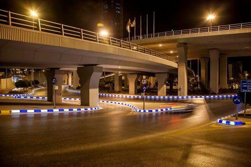 Solar LED Sidewalk Lighting And Curb Stone Lighting