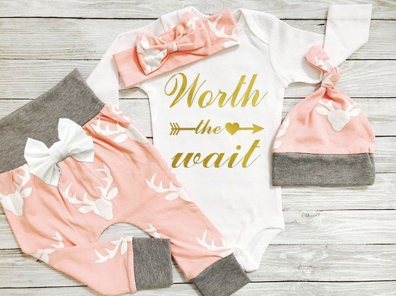 Newborn Girl Outfit Newborn Girl Coming Home Outfit