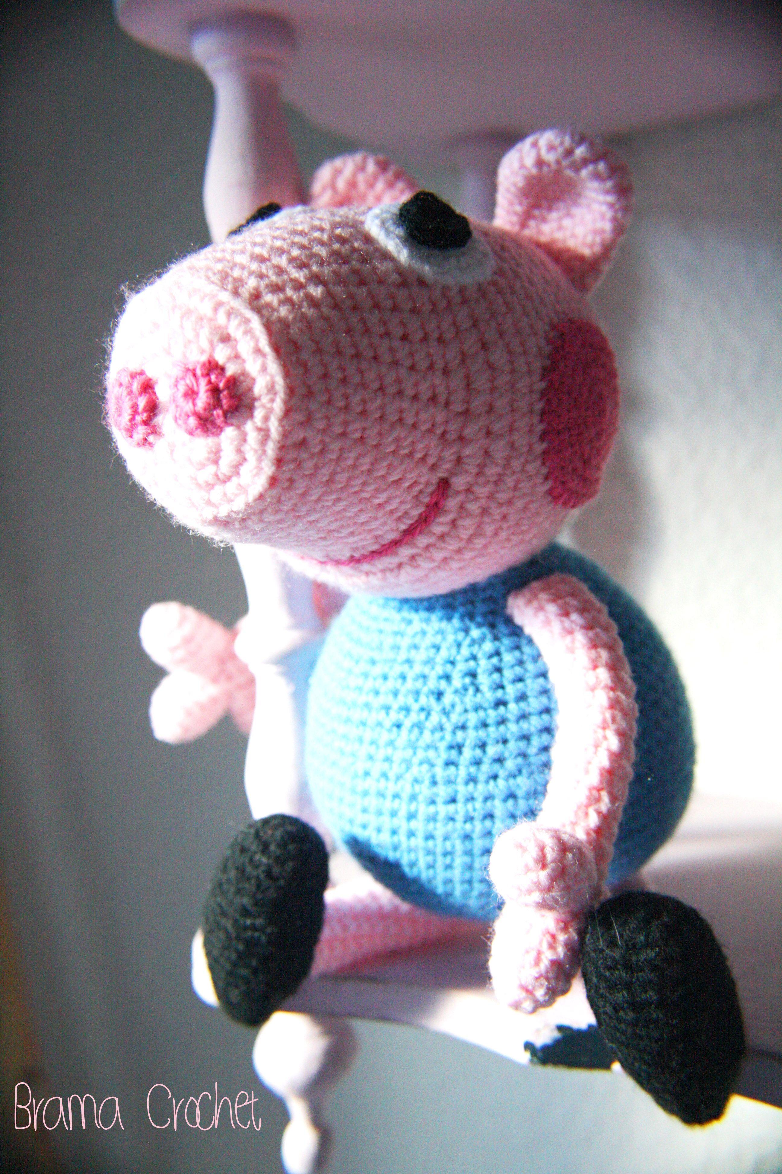 Peppa Pig #cartoons #amigurumi #crochet #tricot #ganchillo #ganxet ...