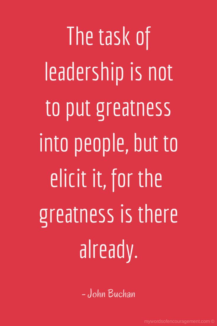 leadership manifesto essay