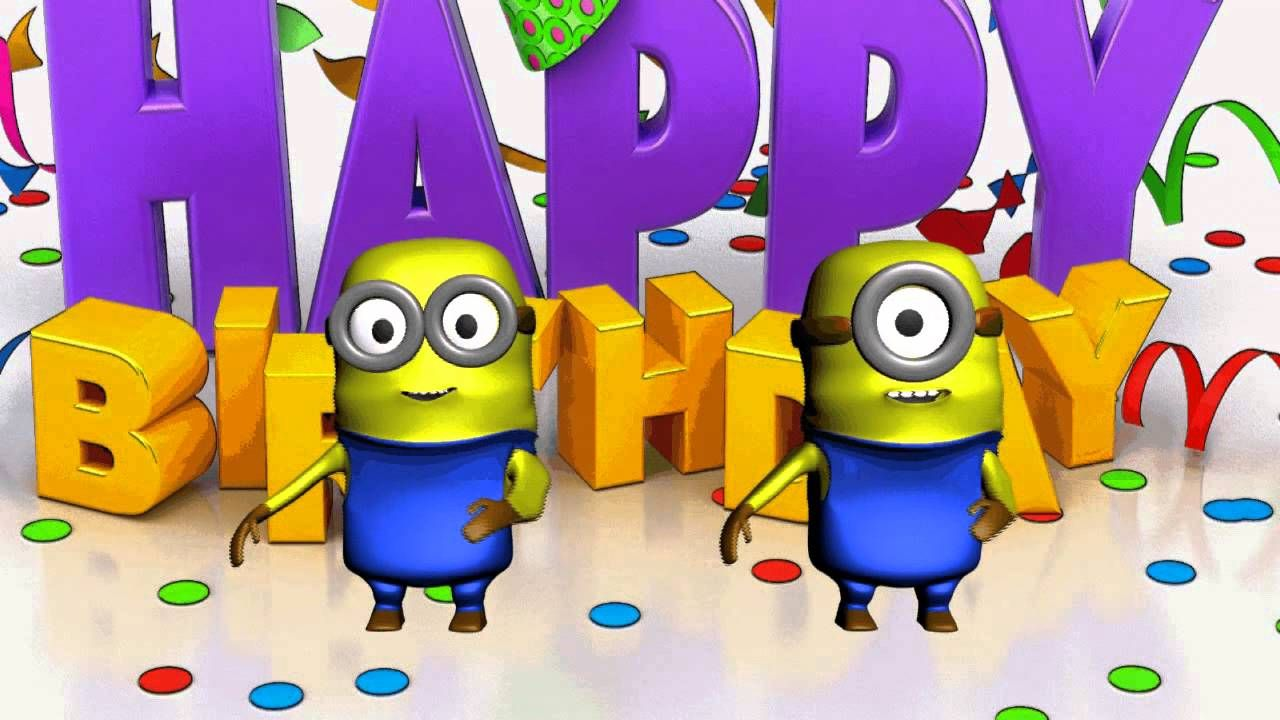 Pin On Minions Birthday Ecards