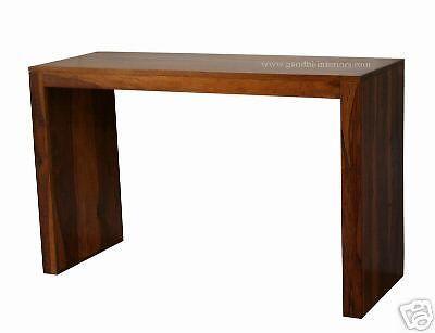gi 2822 konsolentisch wandtisch tisch cubus holz massiv landhausstil 120 40 ebay tische. Black Bedroom Furniture Sets. Home Design Ideas