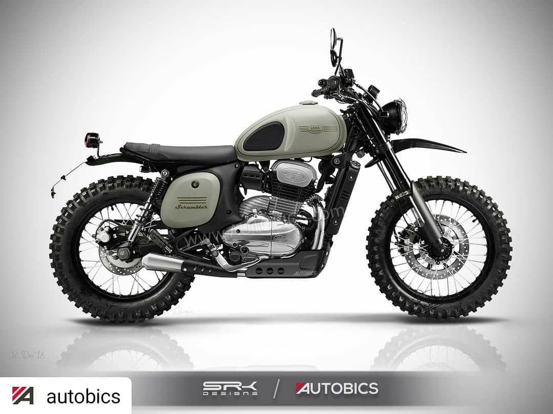 Repost Autobics Jawa Scrambler Concept Motorcycle Imagined