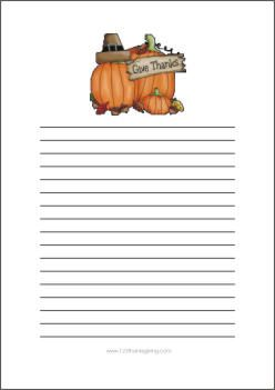 Free Thanksgiving Scrapbook Borders and Backgrounds