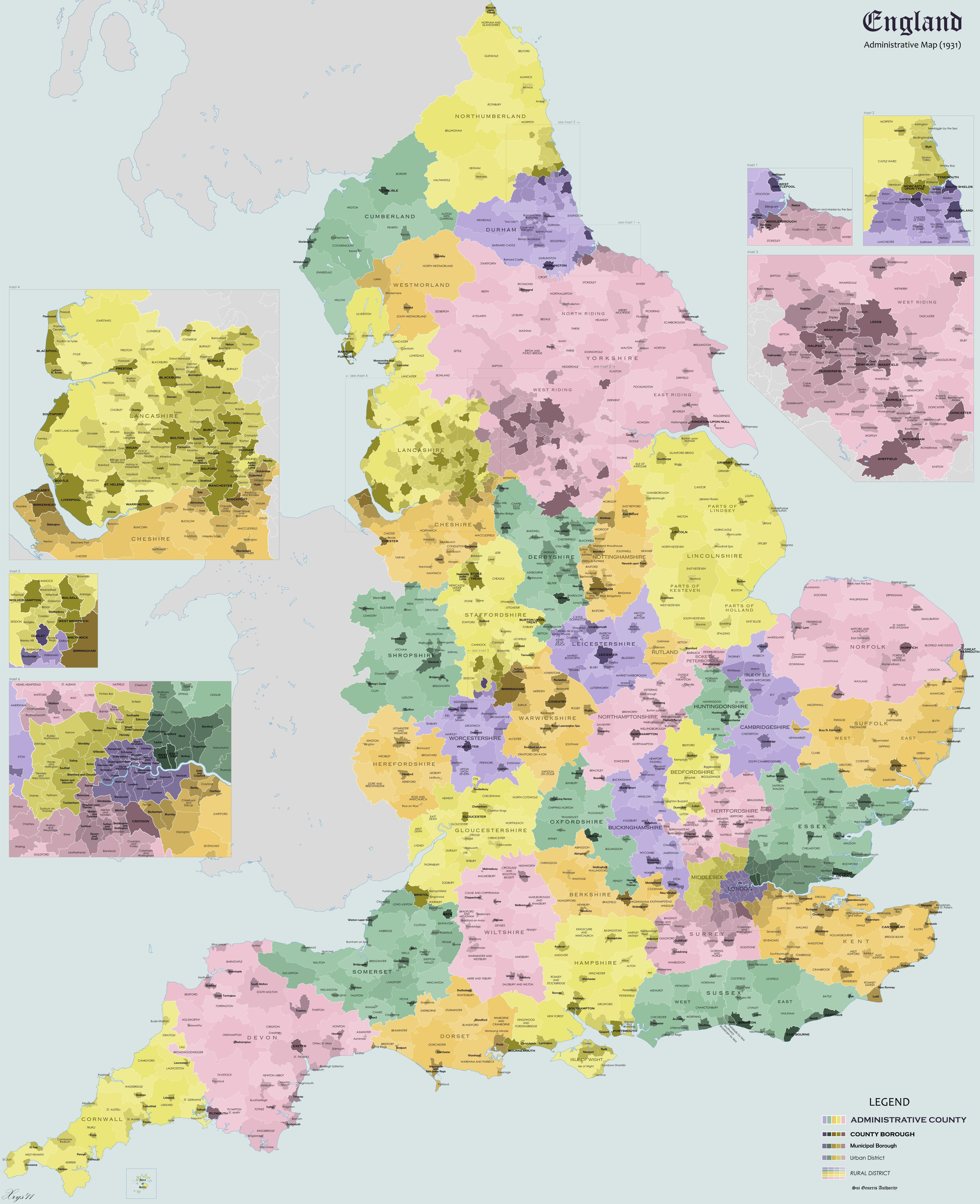 Map Of England Districts.Districts In England In 1931 Maps Law Courses Map Victoria Reign