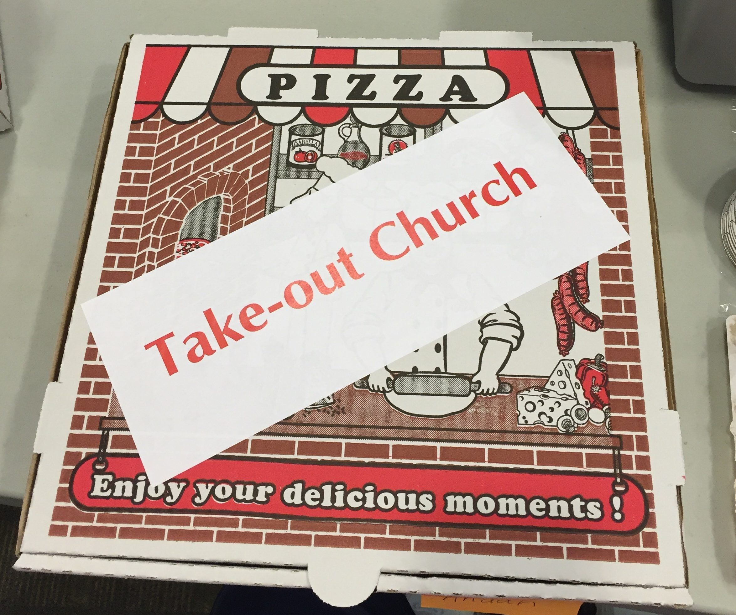 Take Out Church: A Summer Tool For Home And Traveling... Seems Like