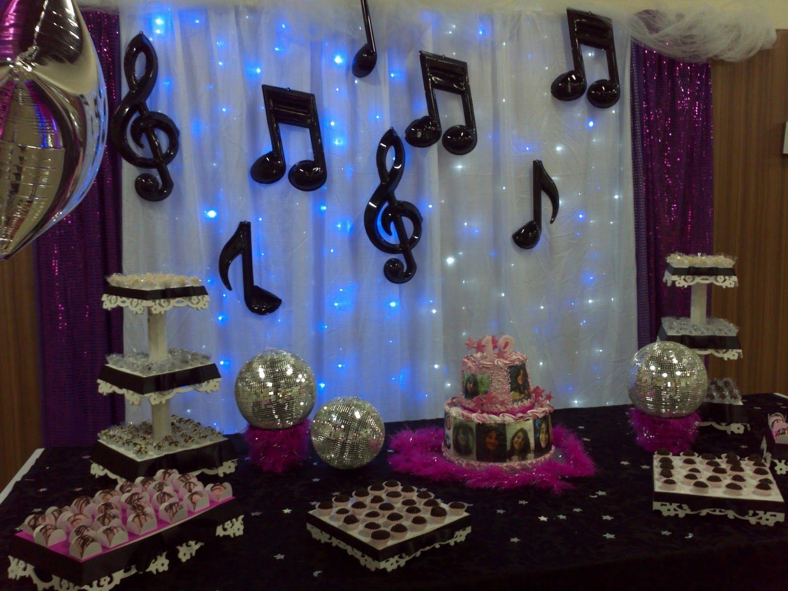 Resultado de imagen para decora o de festa disco decoracion 15 a os pinterest fiestas - Ideas para discotecas ...