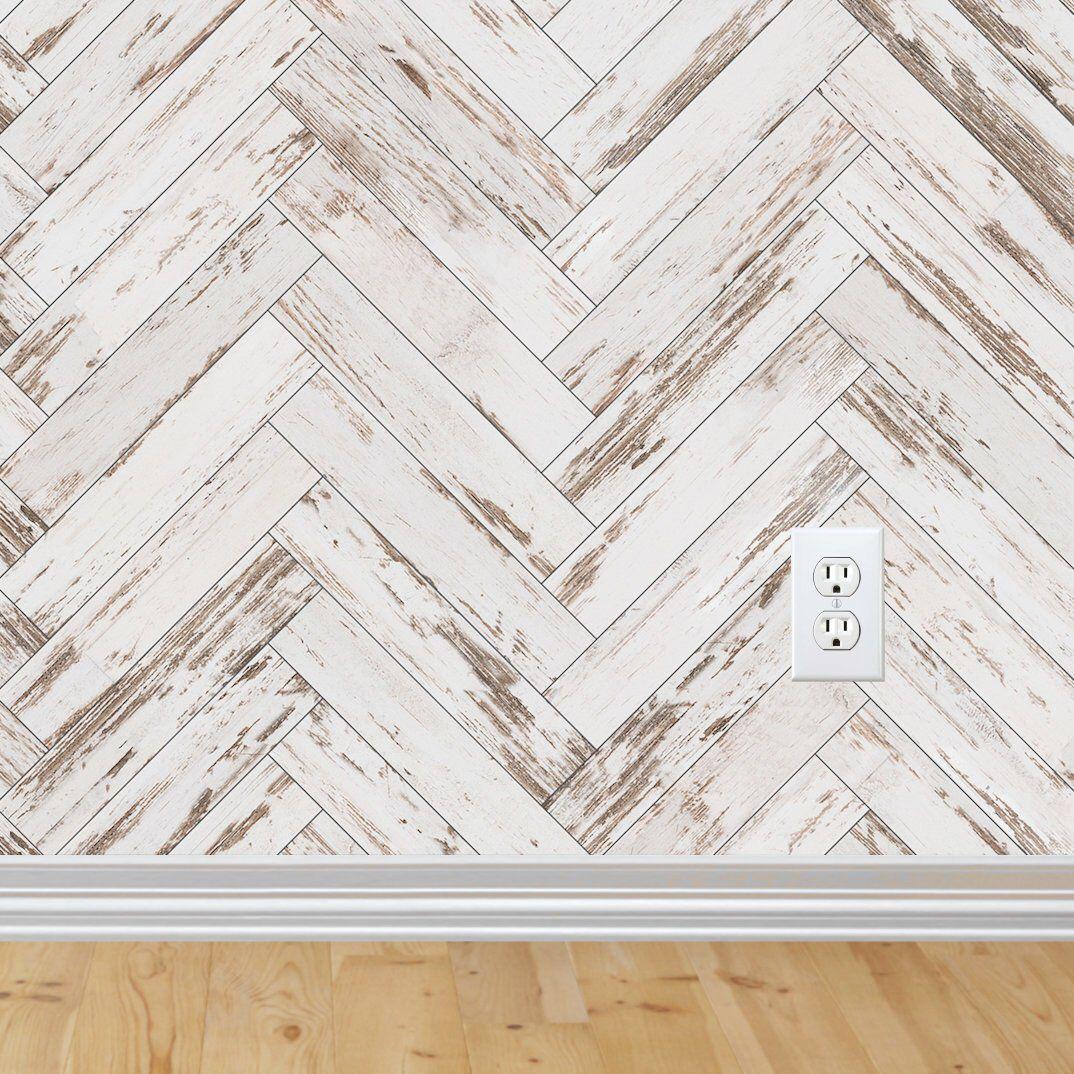 Herringbone Wallpaper Peel And Stick Wallpaper Removable For Interior Design Herringbone Wood Removable Wallpaper Rustic Modern Distressed Wood Wallpaper Herringbone Wallpaper Farmhouse Wallpaper