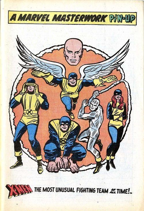 Original X-Men por Jack Kirby y Chic Stone