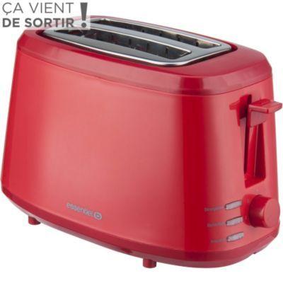 grille pain grille pain essentielb egp capri rouge chez boulanger cher p re no l. Black Bedroom Furniture Sets. Home Design Ideas