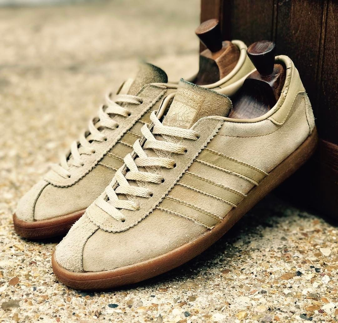 Adidas Saratoga in  sand suede colourway  Adidas Og dc1a41716
