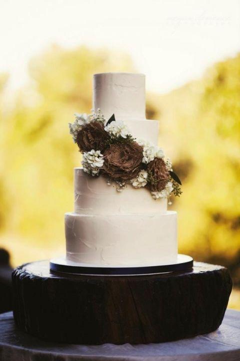 Rustic Wedding Cake Ideas | Rustic wedding cakes, Wedding cake and ...
