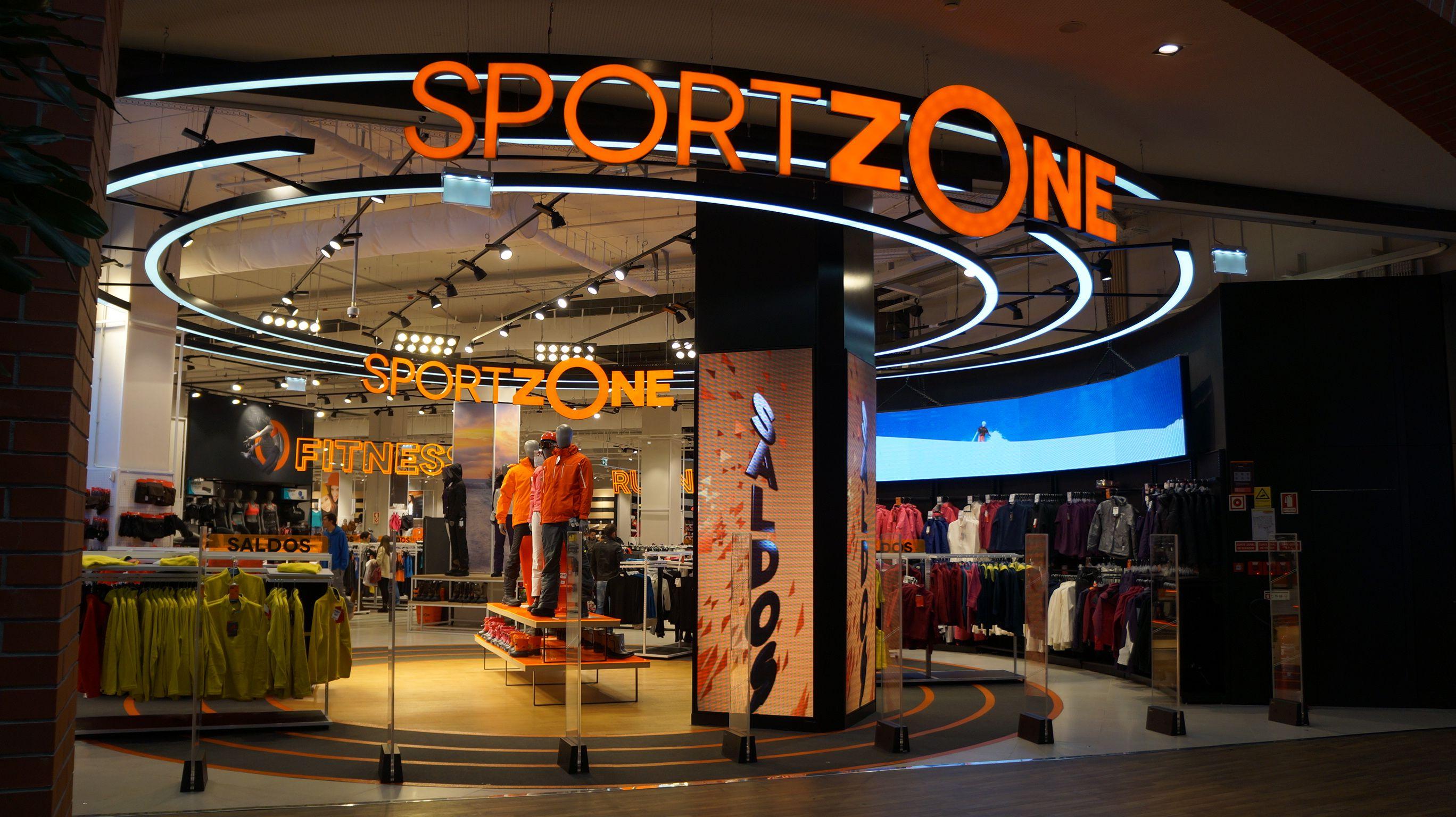 A política de modernização das lojas Sport Zone prossegue