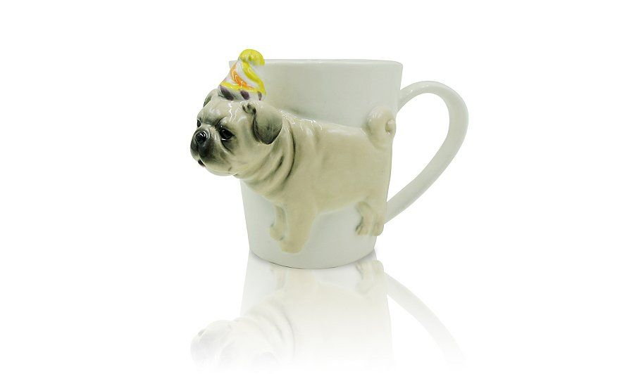 Buy Party Hat Pug Mug From Our Cups Amp Mugs Range Today From