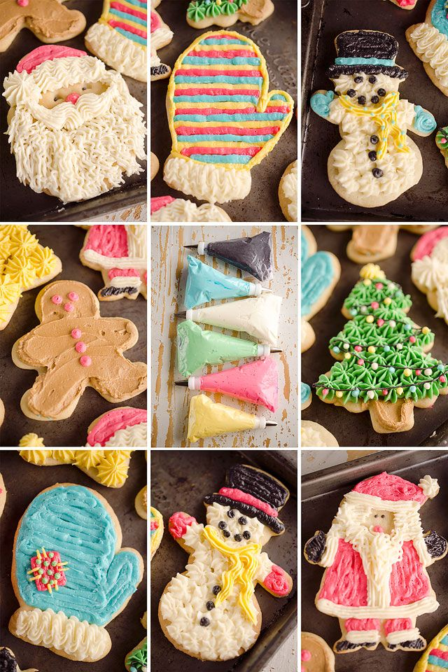 Old Fashion Sour Cream Cut Out Cookies Are The Perfect Sugar Cookie