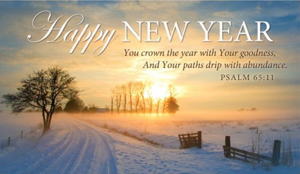 new year christian wishes verses